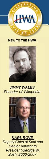 Jimmy Wales advertised above Karl Rove